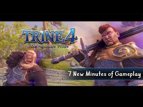 Trine 4: The Nightmare Prince  -  7 minutes of Gameplay thumbnail
