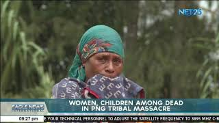 Women, children among dead in PNG tribal massacre