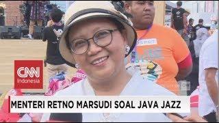 Menlu Retno Marsudi Meriahkan Java Jazz Festival 2018