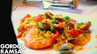 How To Make Paella | Gordon Ramsay