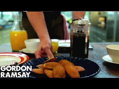 Lemon & Poppy Seed Madeleines – Gordon Ramsay
