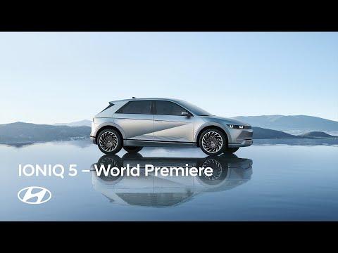 Hyundai IONIQ 5 měl světovou premiéru