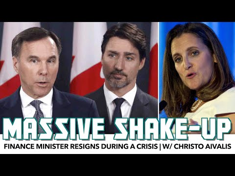 Trudeau's Finance Minister Resigns During A Crisis | w/ Christo Aivalis