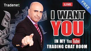 Live Tradenet Day Trading Room - 04/26/2019 - Instagram Live @ 10:45am EST 📸