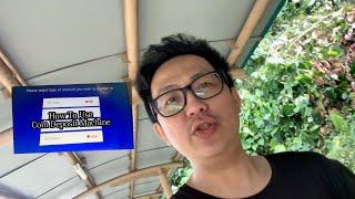 How to use Singapore POSB coin deposit machine. 如何存款你的零钱