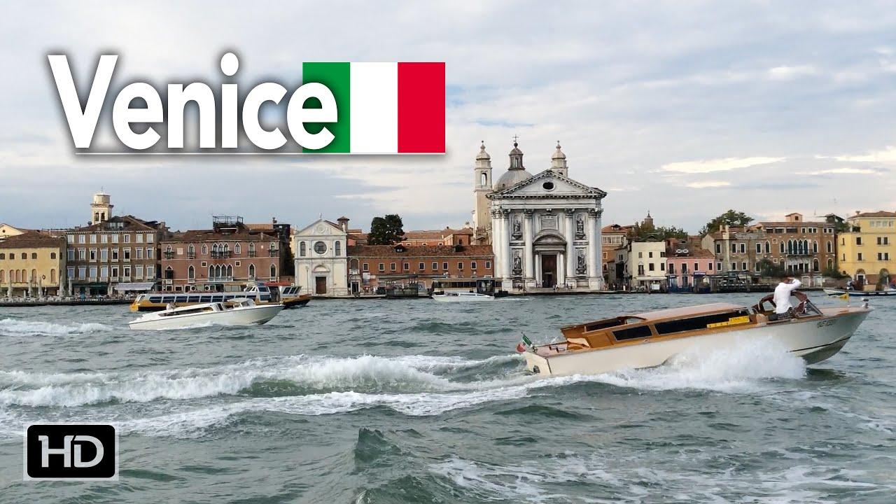 Riding the Venice Water Bus   Vaporetto Linea #2