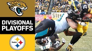 Jaguars vs. Steelers | NFL Divisional Round Game Highlights