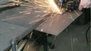 Straight Cutting Metal With Abrasive Discs
