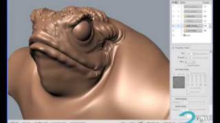 1/5 - Autodesk Mudbox French Tutorial  By Louis Marcoux
