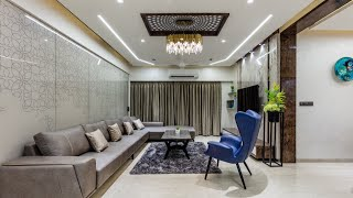 #4bhk Luxury Lilamani River Valley Flat Design By Parisar Studio