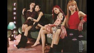 Scan Magazine BLACKPINK For Cosmopolitan Korea August 2018 Issue