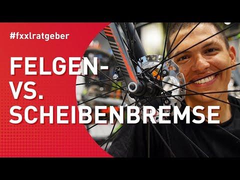 Rennrad Scheibenbremsen vs. Felgenbremsen