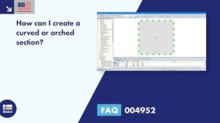 FAQ 004952 | How can I create a curved or arched section?