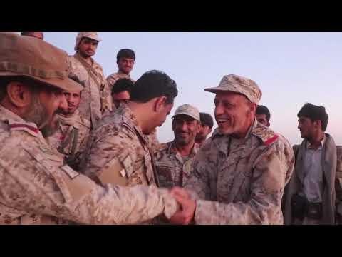فيديو .. متحدث التحالف يزور جبهة مأرب