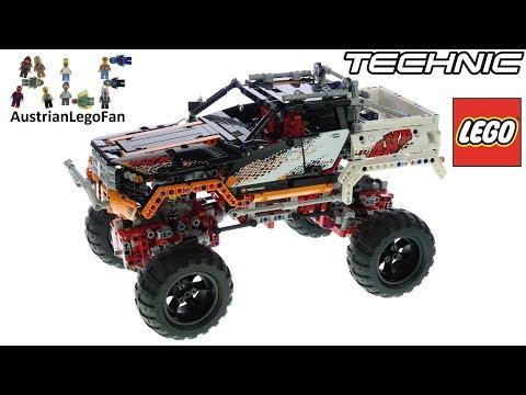 Vidéo LEGO Technic 9398 : Le 4x4 Crawler