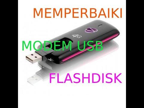 Video Video Cara Memperbaiki USB Modem Dan Flashdisk Yang Tidak Terdeteksi Di Komputer Laptop
