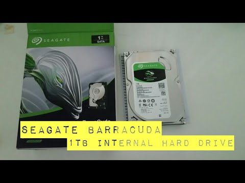 Unboxing – Seagate Barracuda 1TB internal hard drive from Bestbuy
