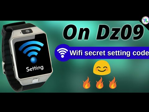 How To Use Wifi In Real Fake Dz09 Smartwatch Open Wifi Setting In