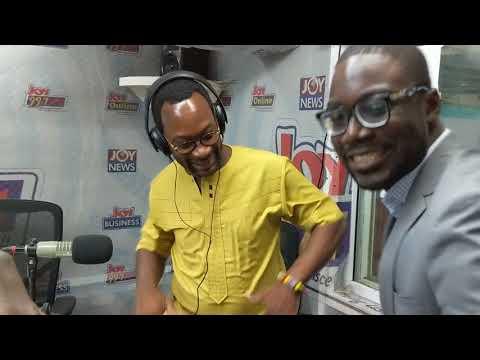 Selorm Adadevoh: MTN CEO dances Agbadza