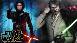 Star Wars Episode 8 The Last Jedi Plot Leak! Luke Skywalker & Kylo Ren (SPOILERS)