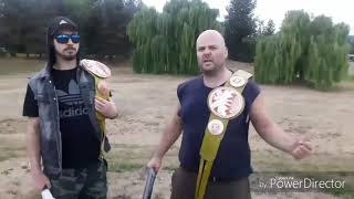 Tag team champions, Magic and The Anvil.