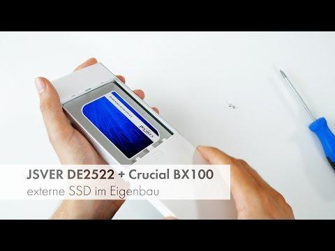 How-To: externe SSD für wenig Geld im Eigenbau [Deutsch]