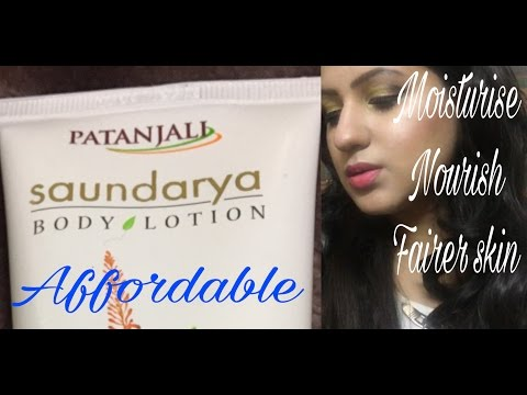 , title : 'NEW Patanjali Saundarya Body Lotion for Fairer Skin Review'