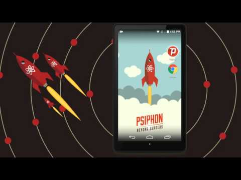 Video of Psiphon