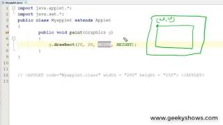 Learning Java: Part 29: Embedding Applets into Webpages