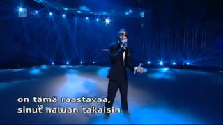 Eurovision 2012 - 2nd Semi-final - Lithuania (Donny Montell - Love Is Blind) HQ