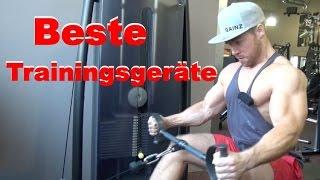 Beste Fitnessgeräte - Hammer Strength, Technogym oder Home Gym?