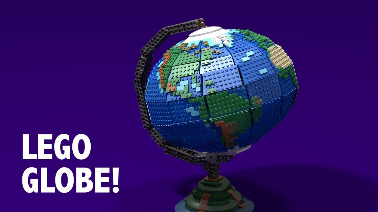 You Need This Spinning LEGO Globe (LEGO Ideas Project)