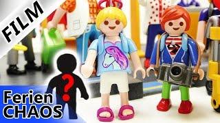 Playmobil Film Deutsch - EMMA WIRD VERMISST! AM FLUGHAFEN! FLUG VERPASST? Ferienchaos Familie Vogel