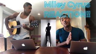 Miley Cyrus   Slide Away (REACTION!!)