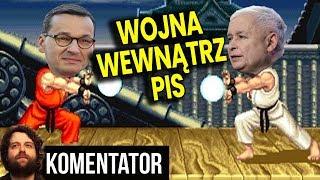 Wojna w PIS? – Prezes Kaczyński Pokazuje WŁADZĘ i Beszta Premiera Morawieckiego – Analiza Komentator