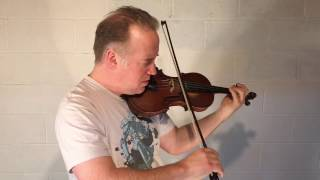"Unaccompanied Violin Improvisation #5 - ""Sweep"""