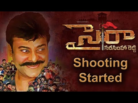 SyeRaa Narasimha Reddy Movie Shooting Started Today
