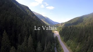 FPV Cinematic Drone Video Mountain Diving & Rivers of Le Valais