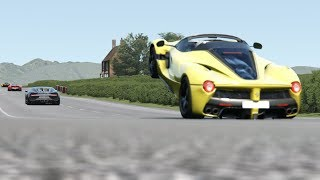 Video Ferrari LaFerrari Aperta vs Supercars at Highlands MP3, 3GP, MP4, WEBM, AVI, FLV Agustus 2019