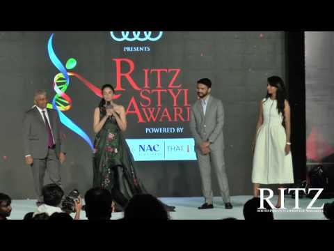 Aditi Rao Hydari wins Most Admired Celebrity at Audi Ritz Style Awards