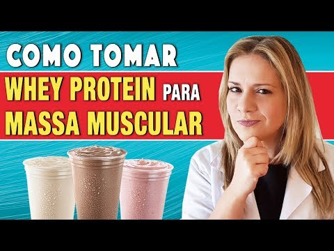 Como Tomar Whey Protein para Ganhar Massa Muscular [+ RESULTADOS!]