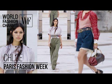 Chloé spring-summer 2021   Paris Fashion Week