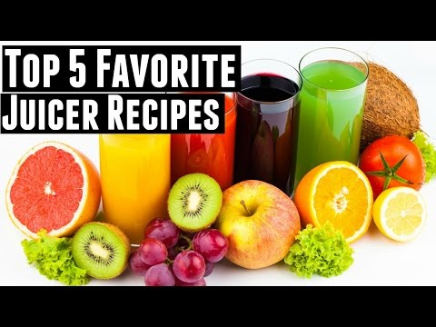 Video My 5 favorite juicer recipes for ENERGY | Green Juice, Fruit Juice, & Vegetable Juice