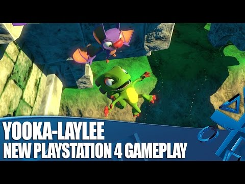 , title : 'Yooka-Laylee on PS4 - New Classic Platforming Gameplay'