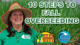 10 Idiot Proof Steps to Overseeding Your Lawn This Fall