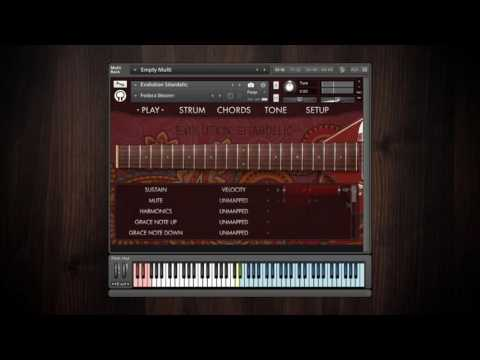 Video for Evolution Sitardelic - Factory Preset Walkthrough