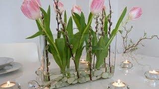 Perfekt DIY: Schnelle Frühlings Deko Für Den Tisch Selbst Machen   Deko Kitchen