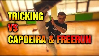 Трикинг VS Капоэйра & Фриран. Галилео / Tricking VS Capoeira & Freerun (НЕ ЗАКОНЧЕННАЯ ВЕРСИЯ)