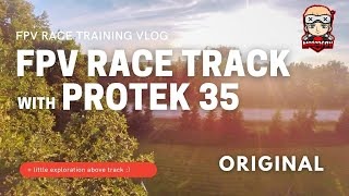 """FPV Race track [and more] with Protek 35 in """"cine mode"""", Insta Go 2 1440p 50fps"""