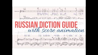 """🌟FREE Russian diction video guide🌟for Rachmaninoff's """"Dream"""" (""""Son"""") art"""